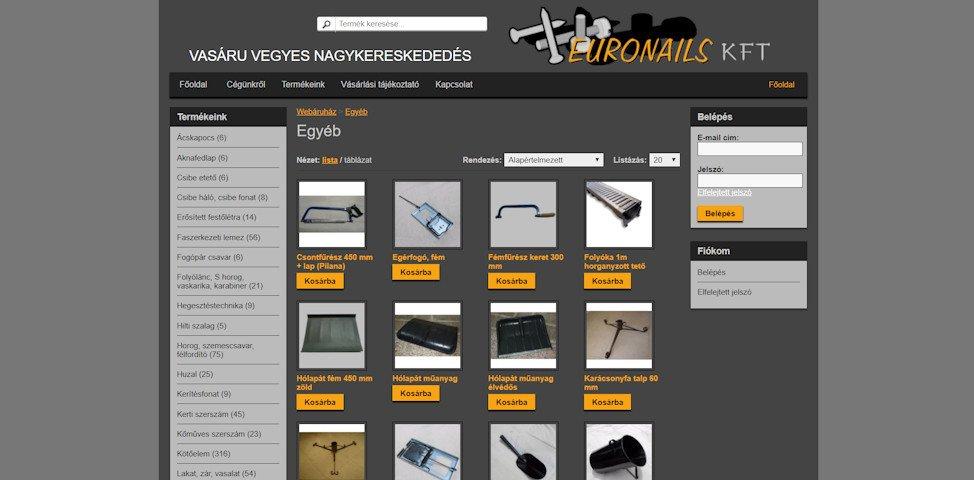 referenciák -weboldal karbantartás