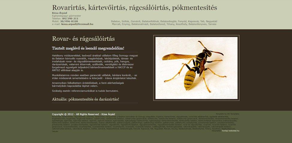 referenciák - weboldal karbantartás