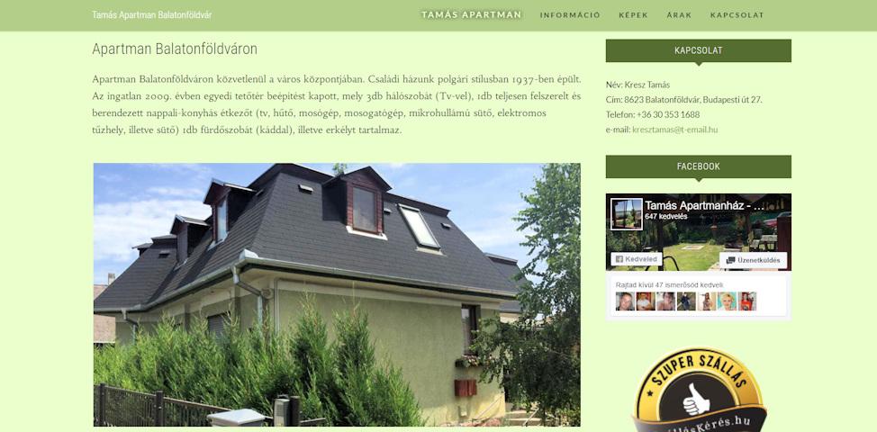 honlap-weboldal-karbantartas-keszites-referenciak-tamas-apartman