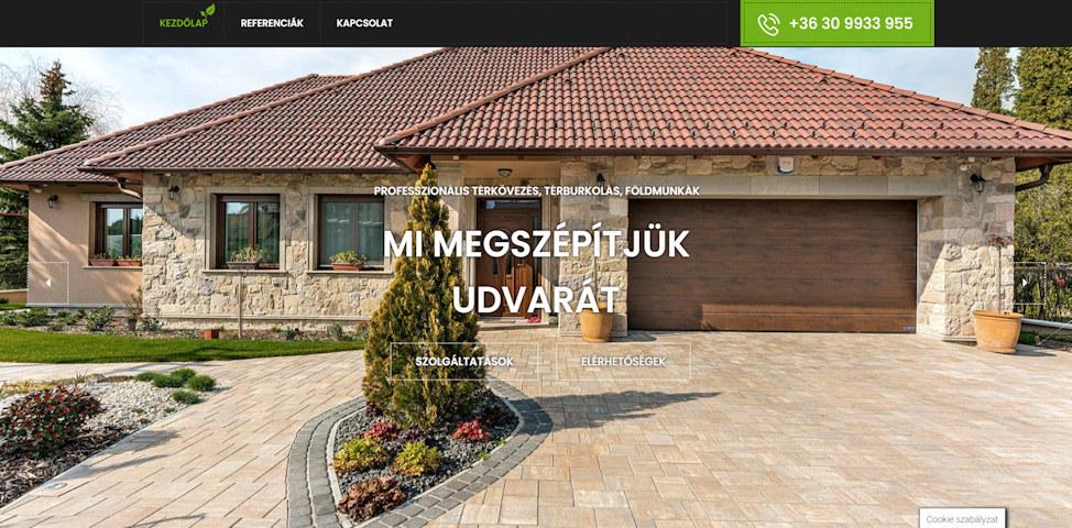 honlap weboldal karbantartás szerkesztés készítés referenciák